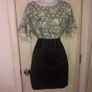 NWOT UO Bell Sleeve Blouse Top XS